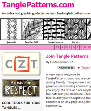 tanglepatterns.com - a resource for those who love Zentangle!